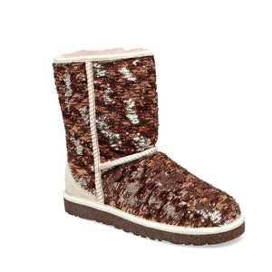 UGG Champagne Sequin Classic Boots